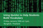 Using Quizlet to Help Students Build Vocabulary