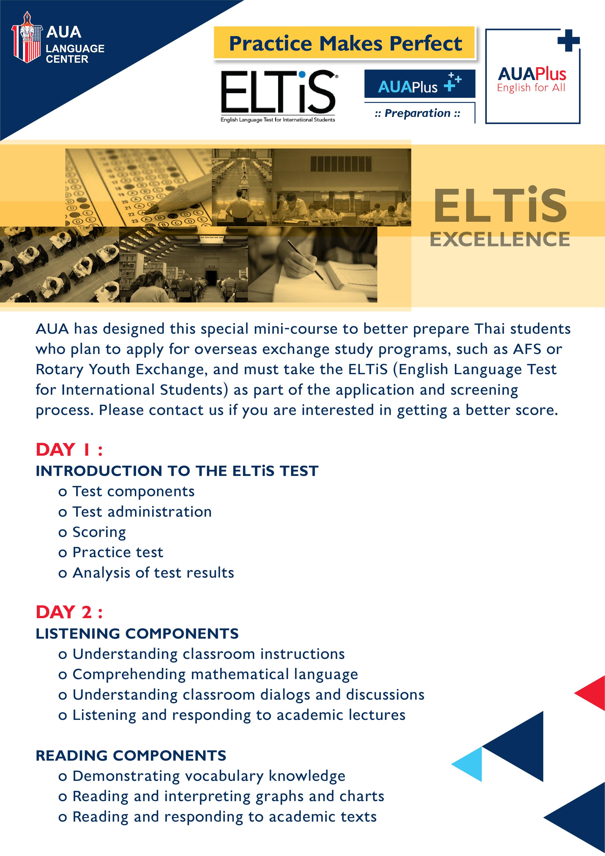 ELTiS Excellence