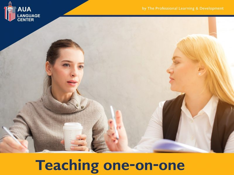 Teaching one-on-one