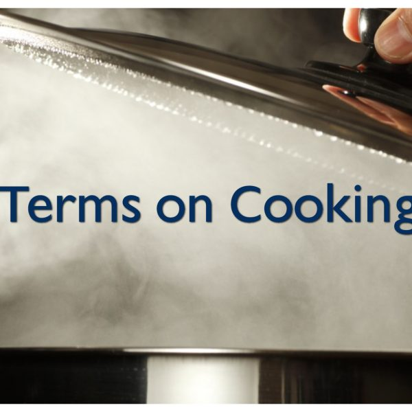 Terms on Cooking