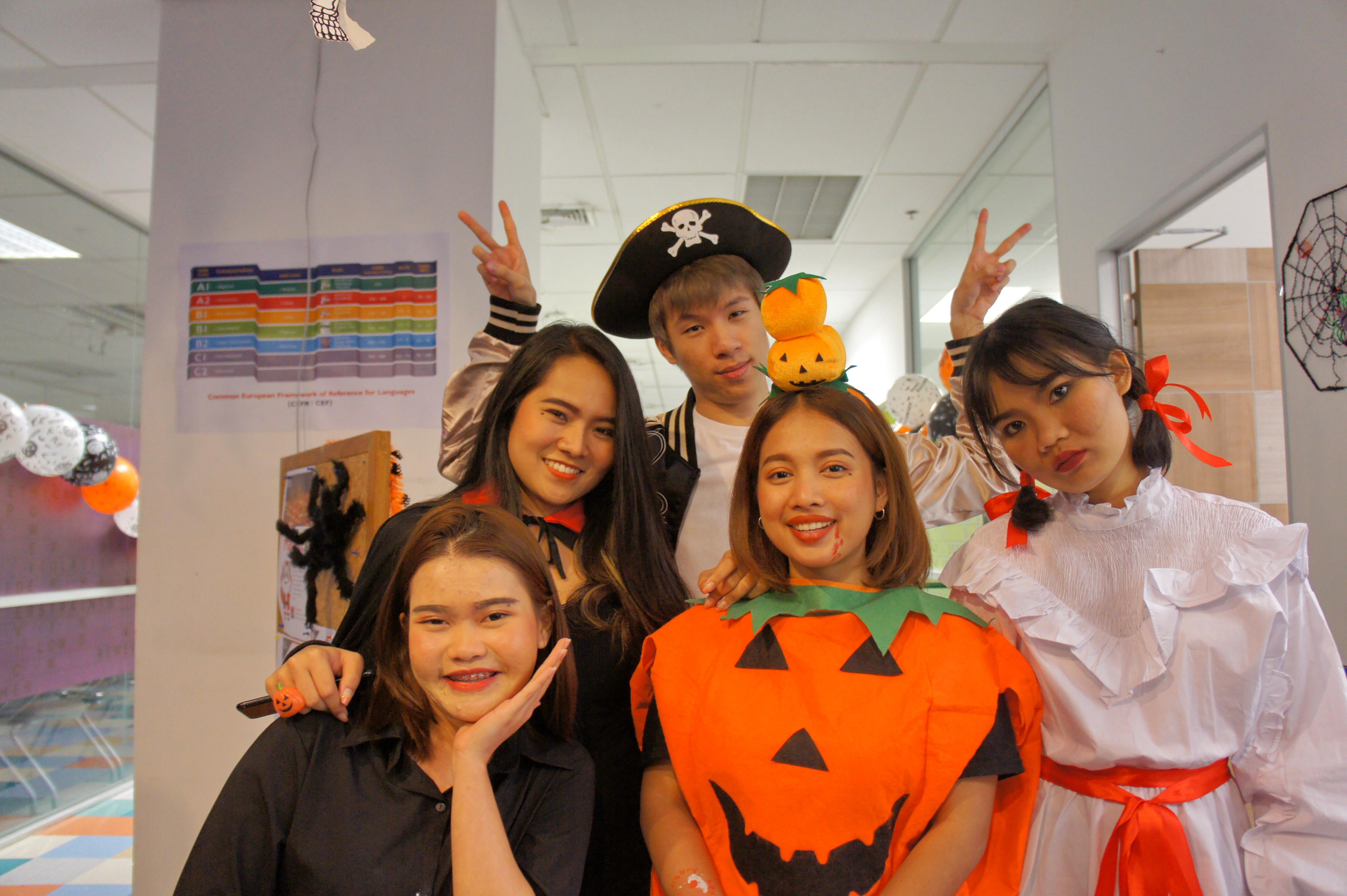 """Halloween 2019 for The English Access Microscholarship Program (Access) (Chamchuri Square Site)"""