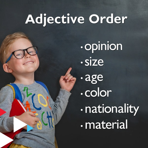 Word Order of Adjectives