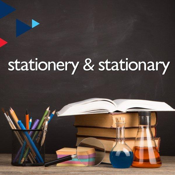 Stationery & Stationary