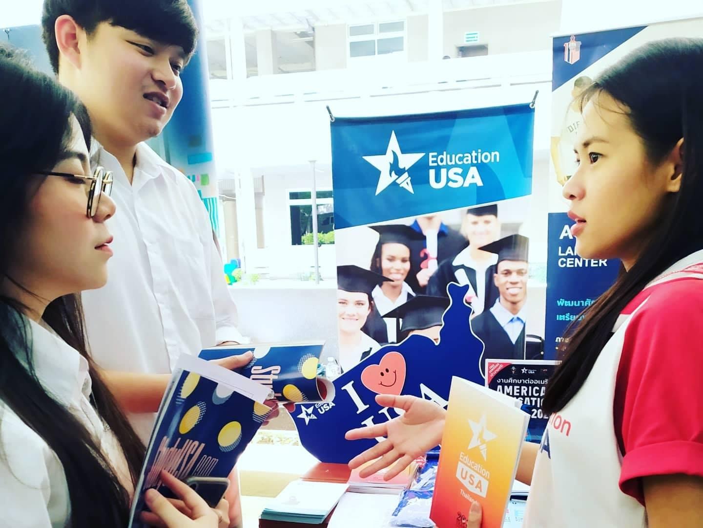 AUA Language Center, Nakornpathom ร่วมกับ EducationUSAThailand เข้าร่วมงาน JobFair2020 by job DB