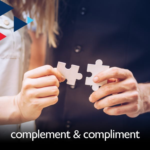 Complement & Compliment