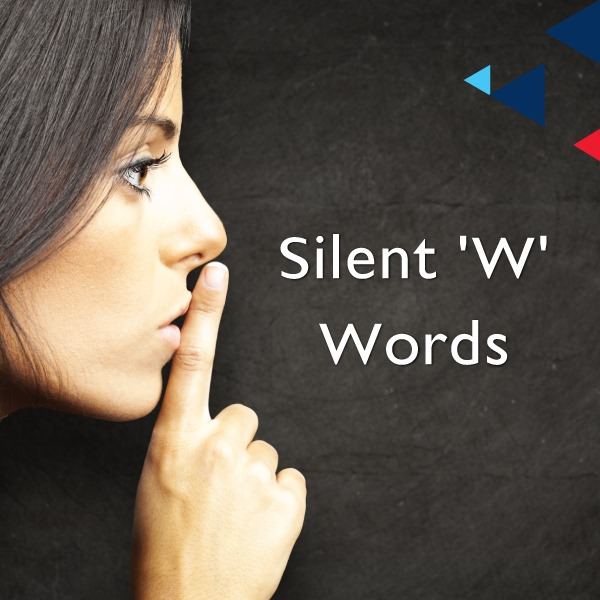 Words with silent 'w'