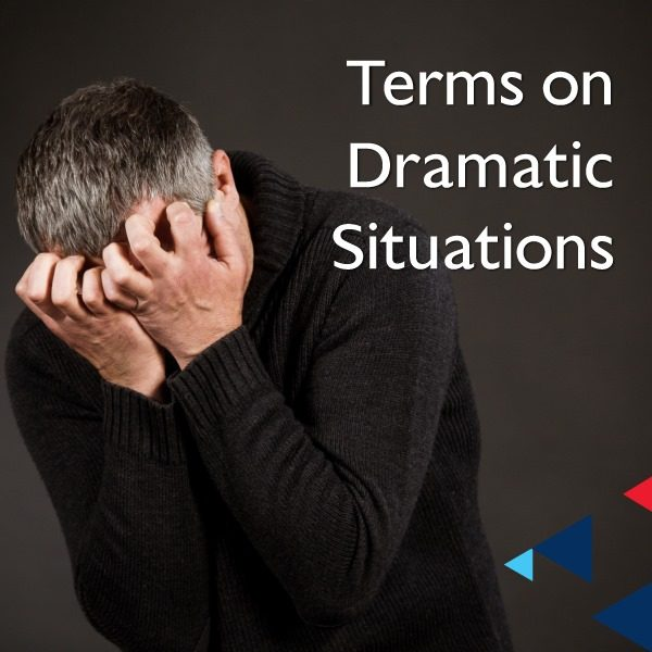 Terms on Dramatic Situations