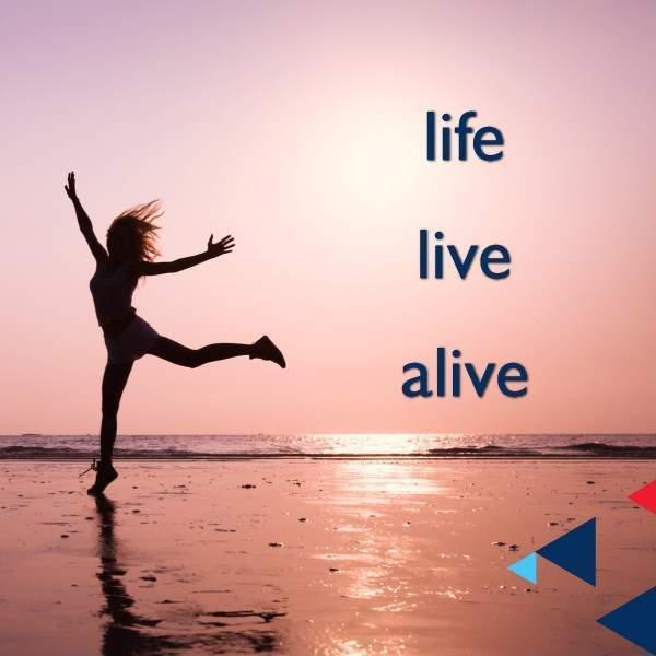 LIFE, LIVE และ ALIVE