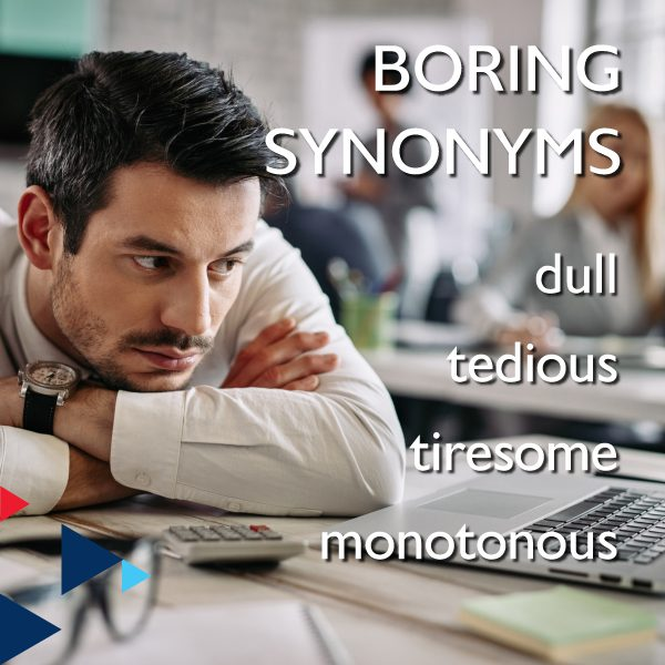 Boring Synonyms