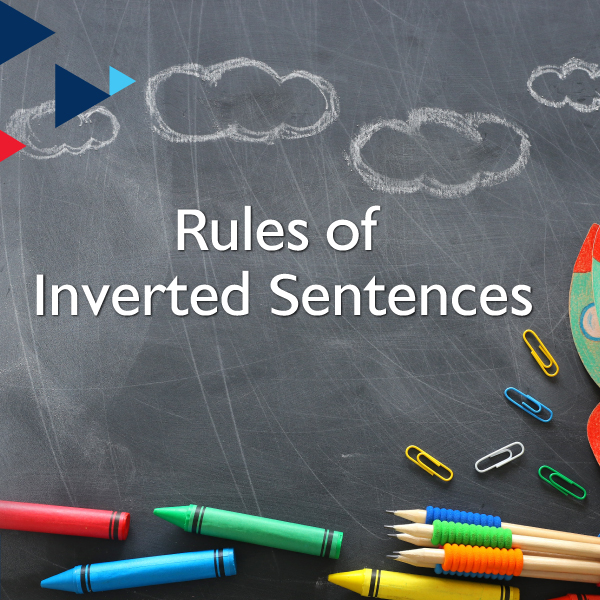 Rules of Inverted Sentences