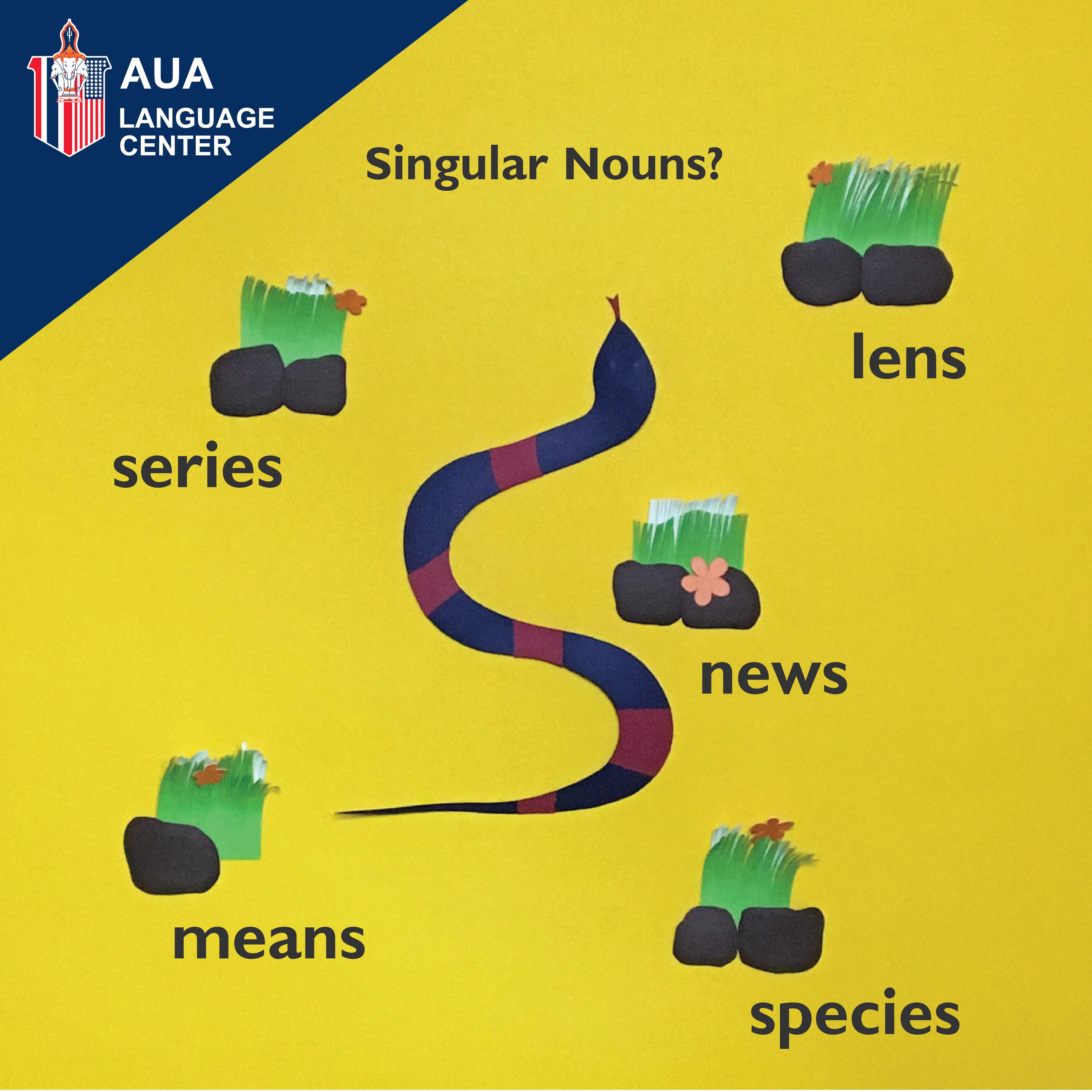 Singular nouns that end in -s